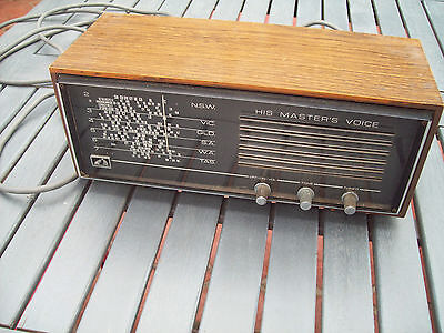 Vintage 1960's His Masters Voice Radio model 68-55 (working order)