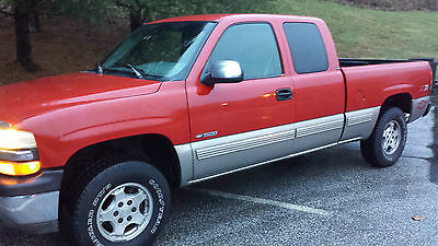 1999 Chevrolet Silverado 1500 LS Extended Cab Pickup 3-Door 1999 Chevrolet Silverado Z71 Off Rd Pkg 1500 3dr 4x4 6' foot bed  Pa.owned truck