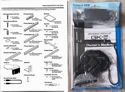 Details about  Roland GK-3 Divided Pickup Guitar Synthesizer