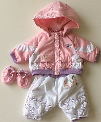 Zapf Creation Baby Born Snow Outfit- Great Preloved Condition!