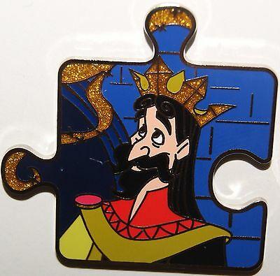 Disney Character Connection Sleeping Beauty Puzzle King Stefan Pin