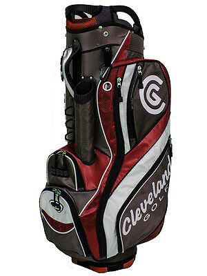 Cleveland CG 15 Cart Bag Charcoal/Red