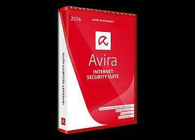 Avira internet Security Suite | 1 User | 1 Year | Online Delivery | Worldwide