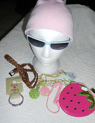 LOTS of NEW ITEMS for GIRLS- BEANIE, BAG, SUNNIES, BELT, BANGLE & BEADS