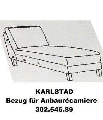 ikea karlstad sessel bezug husie orange neu ovp. Black Bedroom Furniture Sets. Home Design Ideas