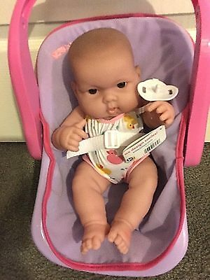 Berenguer Lots to Love Babies Carry Me with carrier and 10 inch baby