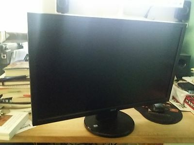 ACER COMPUTER MONITOR LCD 24 inch GREAT CONDITION DVD /VGA screen