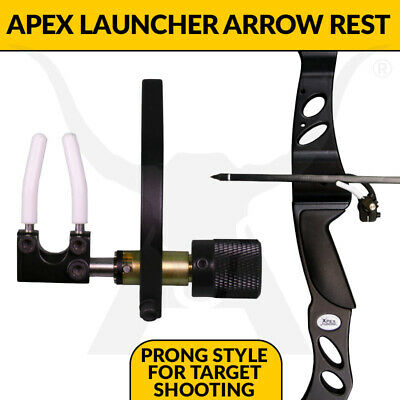 Apex Hunting Launcher Arrow Rest - Prong Style Rest for Archery Target Shooting