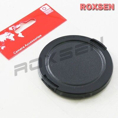 46mm Plastic Snap on Front Lens Cap Cover for DC SLR DSLR camera DV Leica Fuji