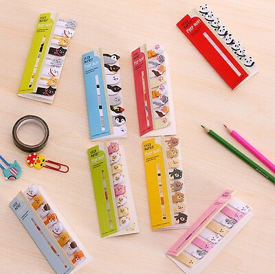 Cute Cartoon Sticker Flags Bookmark Memo Index Tab Marker Sticky Notes 120 Page