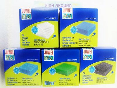 Juwel Aquarium Compact 5 Filter Set Pet Fish Around New UK SELLER UK SELLER