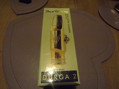 ( new ) theo wanne durga 2 alto saxophone metal mouthpiece px swap deal ?????