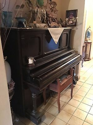 W.H.Paling & Co Upright Victor Piano