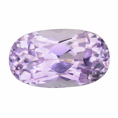 2.740Cts Attractive Splendid Luster Pink Natural Kunzite Oval Loose Gemstones