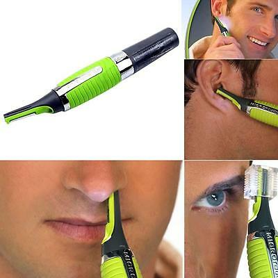 For men's mini shaver Hair nose ear Trimmer Clipper Electric scissor with LED CM