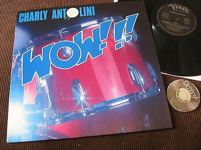 Lp Charly Antolini Wow!!! 1987 Germany | M- to EX