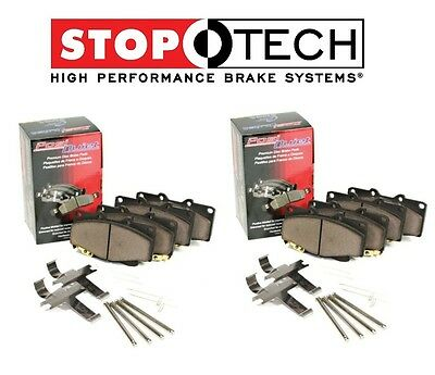 For Mercedes CL55 AMG W215 W220 Front /& Rear Ceramic Brake Pads Set Kit StopTech