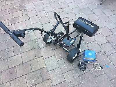 Laserlite Motorised Golf Buggy With Charger.