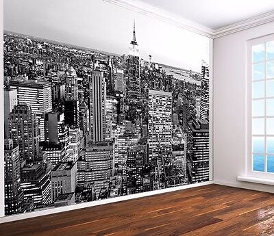 New York Black and white Wallpaper wall mural empire state (17926178) cityscape