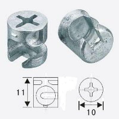 10mm x 11mm Furniture Cam Lock (PACK of 10)
