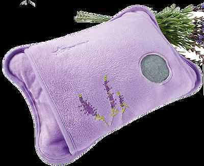 Rechargeable Lavender Hot Water Bottle