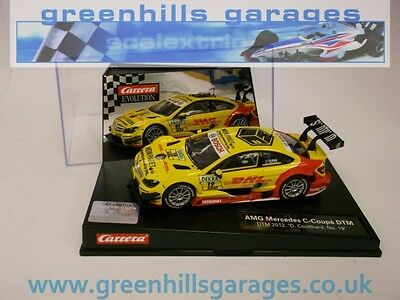 Greenhills Carrera Evolution AMG Mercedes C-Coupe DTM 2012 D.Coulthard No.19 Ref