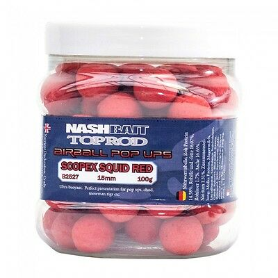 Nash Bait Top Rod Airball Pop Ups *All sizes and Flavours*