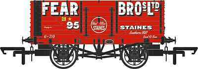 Oxford Diecast 7 Plank Mineral Wagon Fear Bros Staines No.95 76MW7001