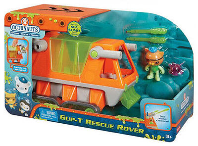 Fisher Price Octonauts Gup T Rescue Rover Vehicle Playset Brand New In Box Dgk17