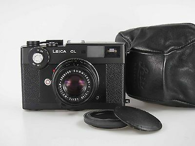 Mint Leitz Leica CL + Summicron C 2 / 40 mm with special engraving   80361*