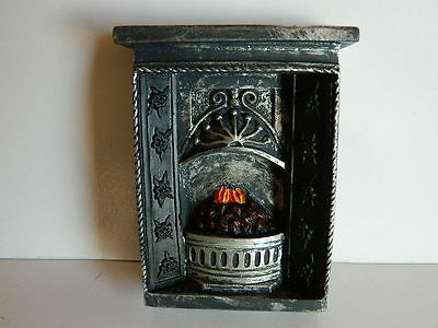 (Hp11) Dolls House Small Resin Fireplace