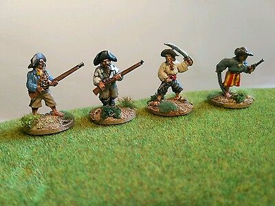 28mm Wargames Foundry Pirates - Painted Metal Figures