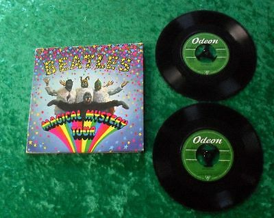 """The Beatles 7"""" Doppel-EP - Magical Mystery Tour ( 2 x Single) 2 EP"""