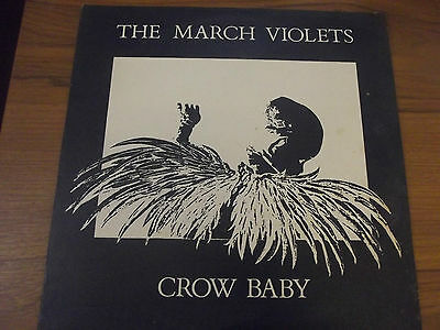 THE MARCH VIOLETS Crow Baby 12 inch single