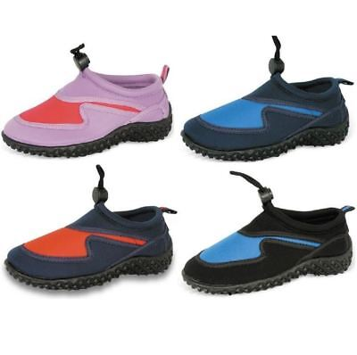 Urban Beach Childrens Kids Aqua Shoes Surf Wet Water Wetsuit Neoprene Boots New