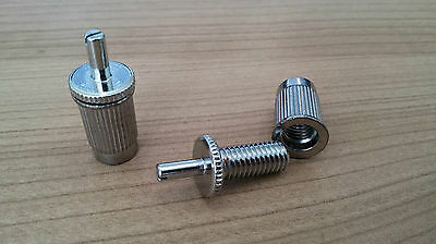 Les Paul Bridge Conversion Posts - Convert Epiphone, imports etc to ABR-1 Chrome