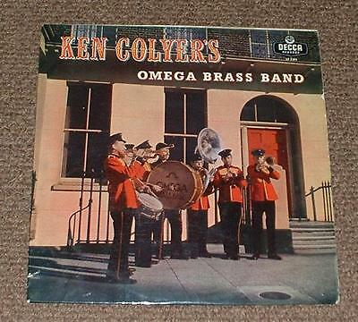 """KEN COLYER'S OMEGA BRASS BAND marching to new orleans 1958 UK DECCA 10"""" MONO LP"""