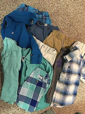 HUGE 3T Toddler Boys Clothing Lot (Janie And Jack, Hurley, Under Armour, 11pcs