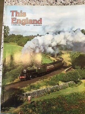 This England Magazines From 1984 to 1995 plus 1996 Spring, Summer, Winter GC