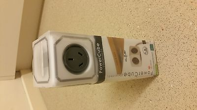 Allocacoc powercube 5 extended outlets 1.5 M Built in surge protection