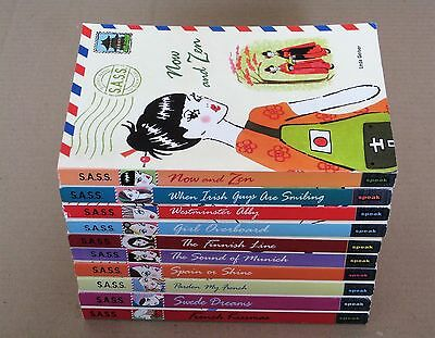 S.A.S.S. series x 10 books ~ Spain or Shine Pardon My French Swede Dreams etc