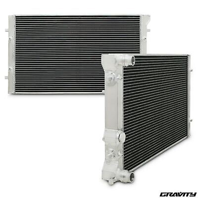 42mm ALUMINIUM ALLOY SPORT RADIATOR RAD FOR AUDI A3 8L S3 TT 1.8T QUATTRO 225BHP