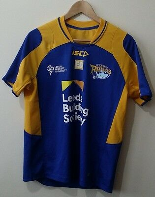 CHEAP ISC Leeds Rhinos Rugby League Shirt Size - S/M