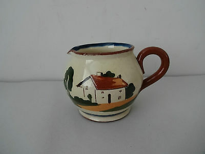 "Vintage Motto Ware Watcombe Pottery-Jug-""Hope well and have well"""