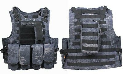 Airsoft Chaleco Tactico Mole Fsbe Krypetk Typhon - Airsoft - Militar