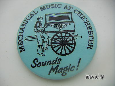 Mechanical Music At Chichester Picture Badge