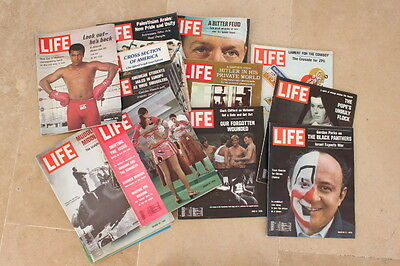 15 Life magazines from '70 - 15 revues LIFE des années 70