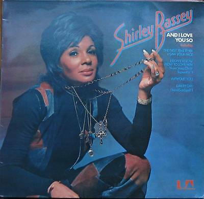 Shirley Bassey, and I love you so, rare LP