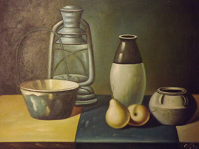classic still life food vases on the table large oil painting canvas art 20x24""