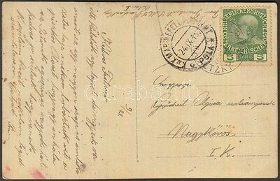 Hungary stamp Navy mail postcard `S.M.S. RADETZKY` 1915 Cover WS228092